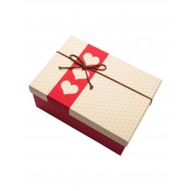 علبة هدية على شكل مستطيل